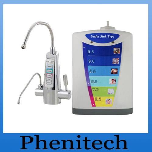 PH 3-11 ,3 or 5 plates Under sink alkaline water ionizer