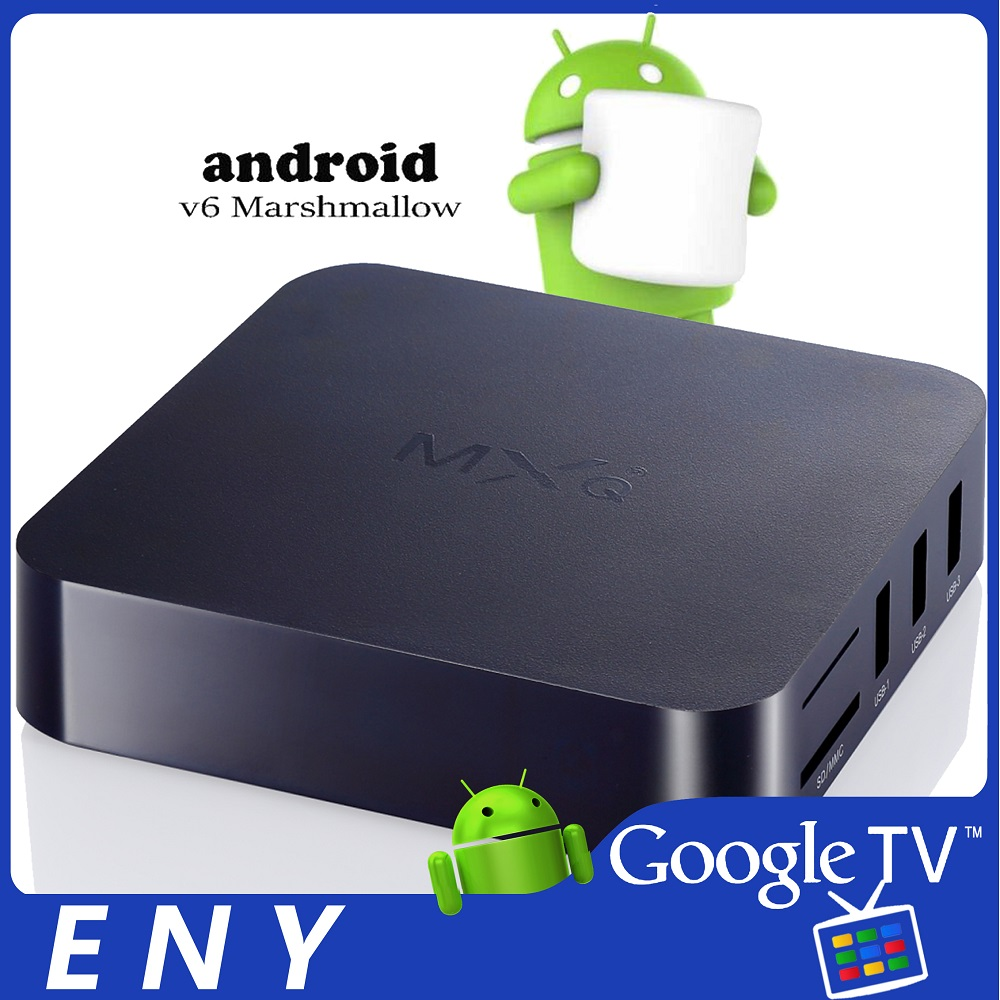 S905X 1G/8G MXQ NEXT ENYBOX Android 6.0 TV Box
