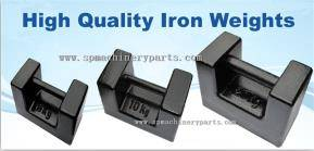 China supplier nice quality certified precision test weights with grip handle