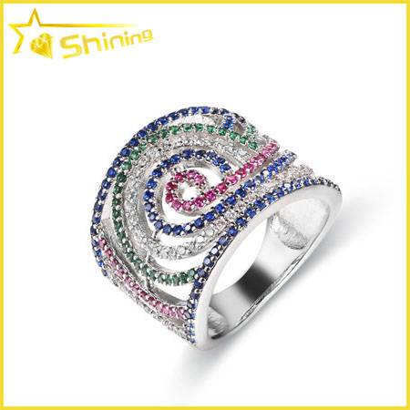 wholesale sterling silver rhodium plated women jewelry