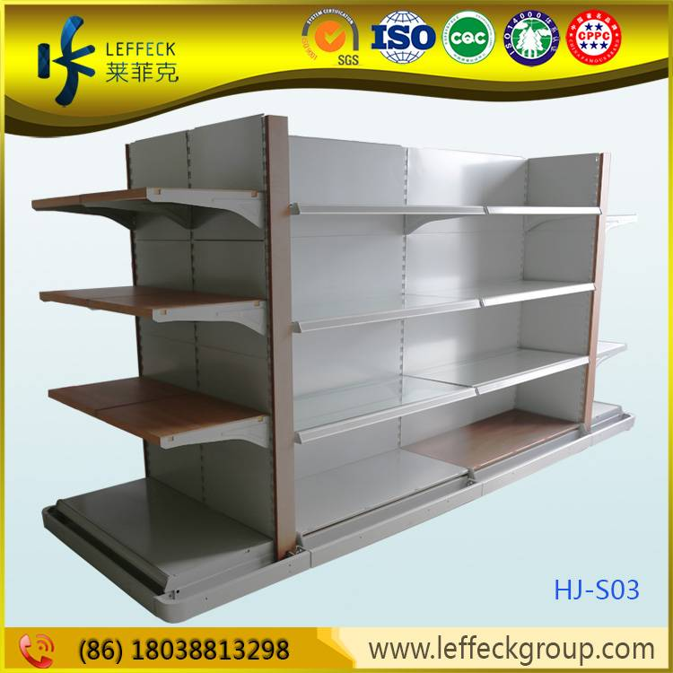 Light duty easy disassemble supermarket rack display racks