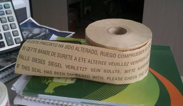 logo printed kraft paper tape