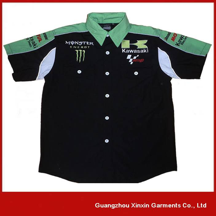 Motorcycle Cordura Wears Biker Clothing Men's Racing Wear Shirt