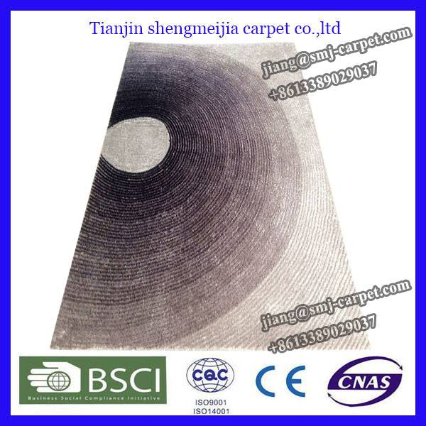 High quality comfortable polyester carpet for houseware