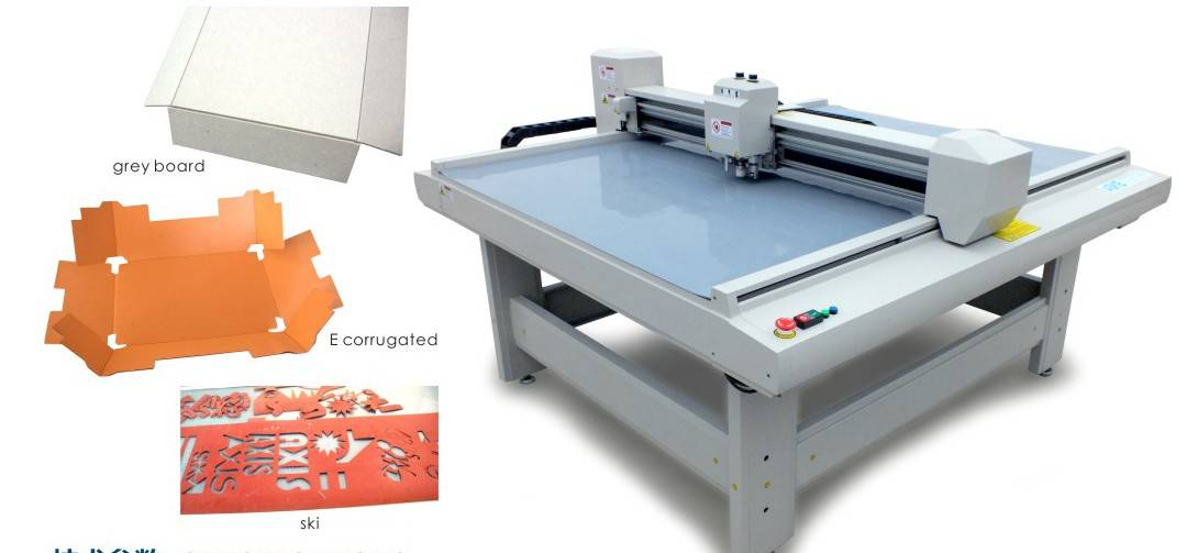 DCH50 series paper & color box sample maker machine with cnc