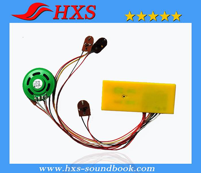 Push Button Electronic Music Sound Box for Children Books