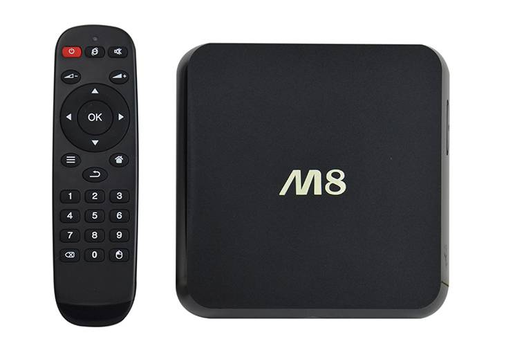 Android TV Box Quad core Model M8