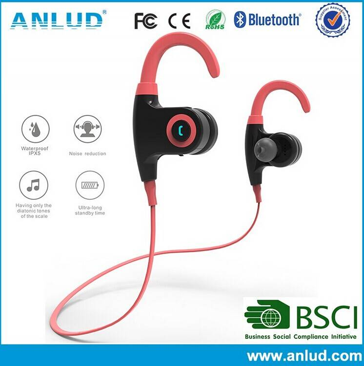 wireless bluetooth stereo headphone for mobile phone