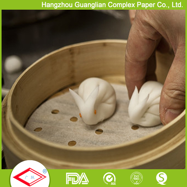 Double sides silicone coated steaming cushion paper