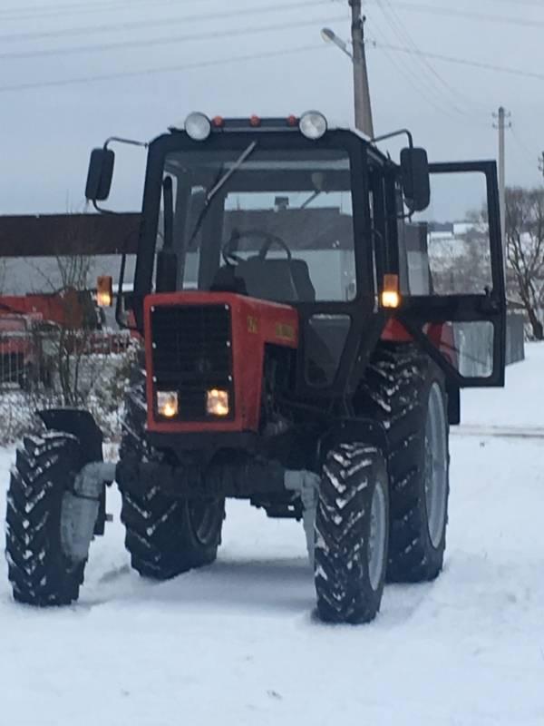 Used farm tractors MTZ-Belarus from 10000