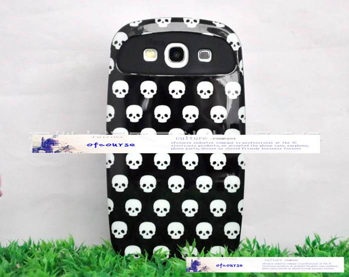 new arrival Skull silicone case for Samsung GALAXY S3 I9300