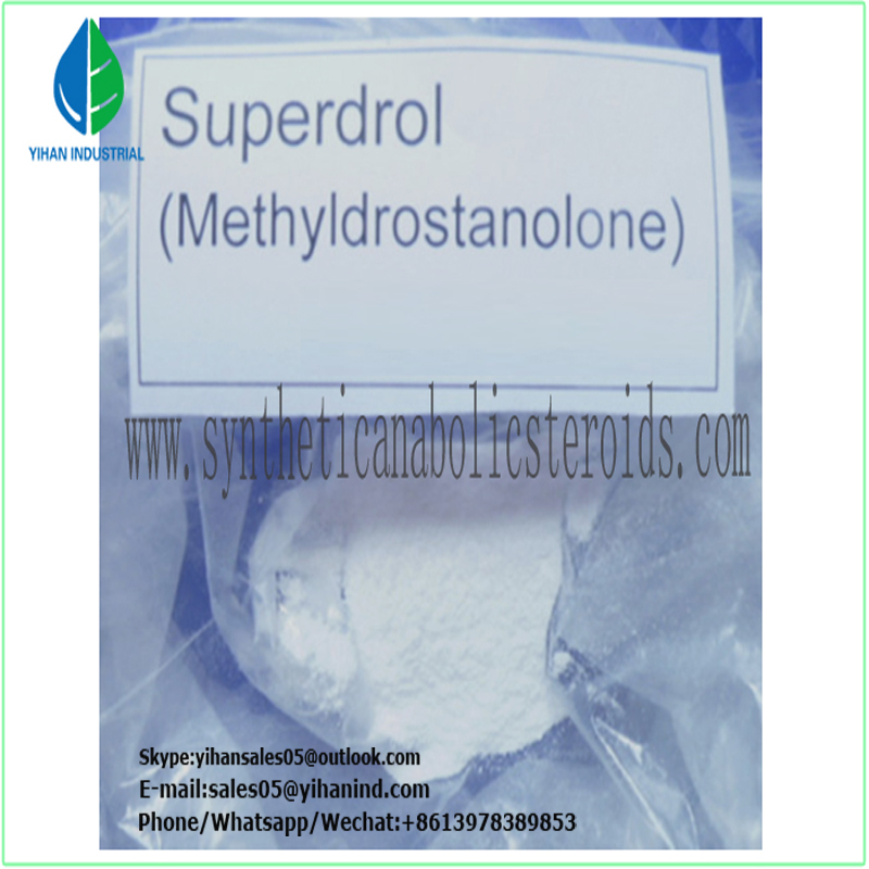 Bodybuilding Muscle Mass Anabolic Androgenic Steroids Hormone Methasterone (methyl-drostanolone)