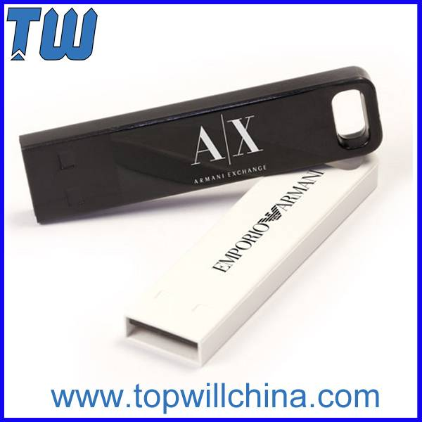 Colorful Metal Rectangle 16GB Flash Drive Hot Design
