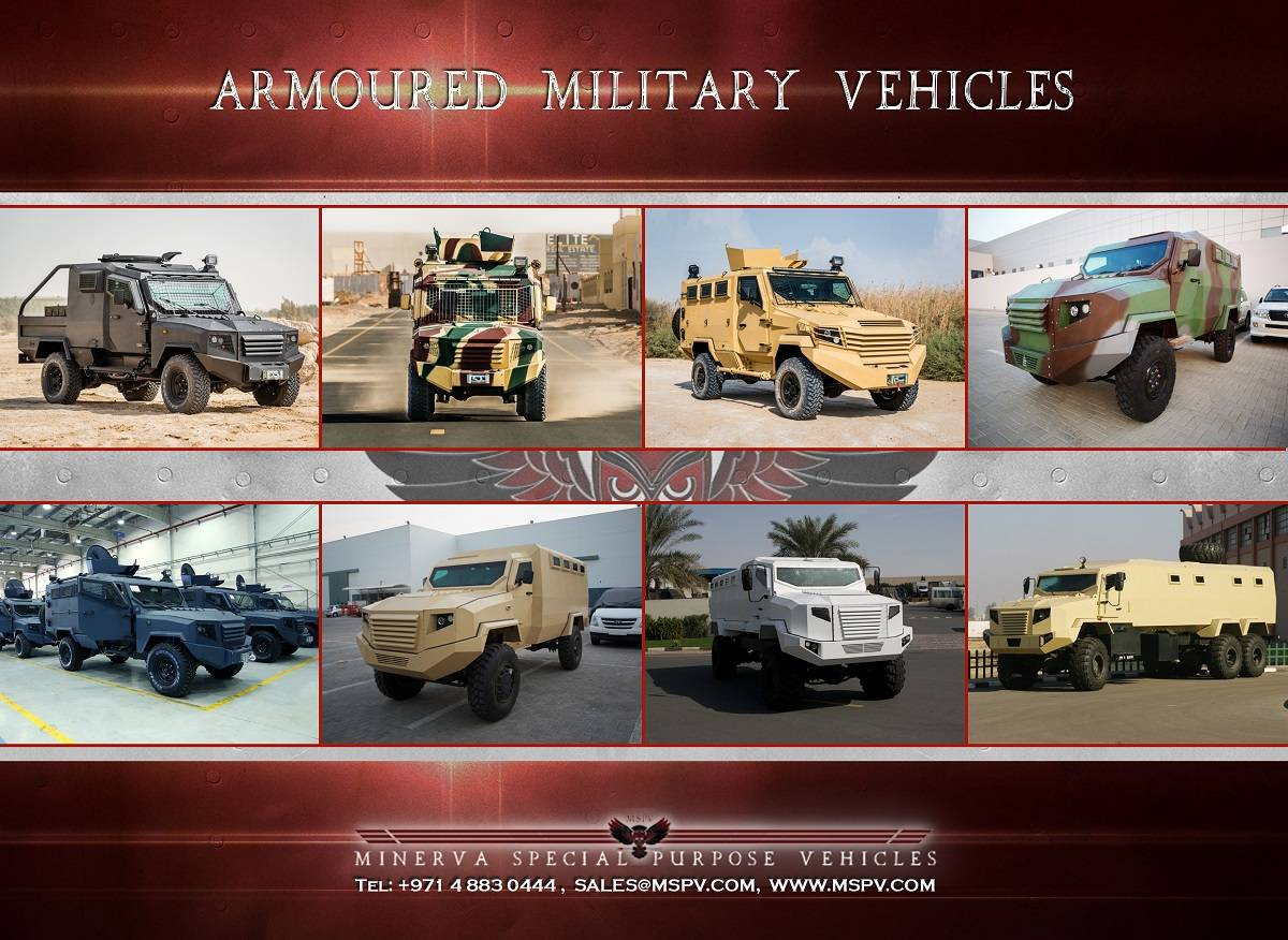 Armoured & Bullet Proof Military Vehicles