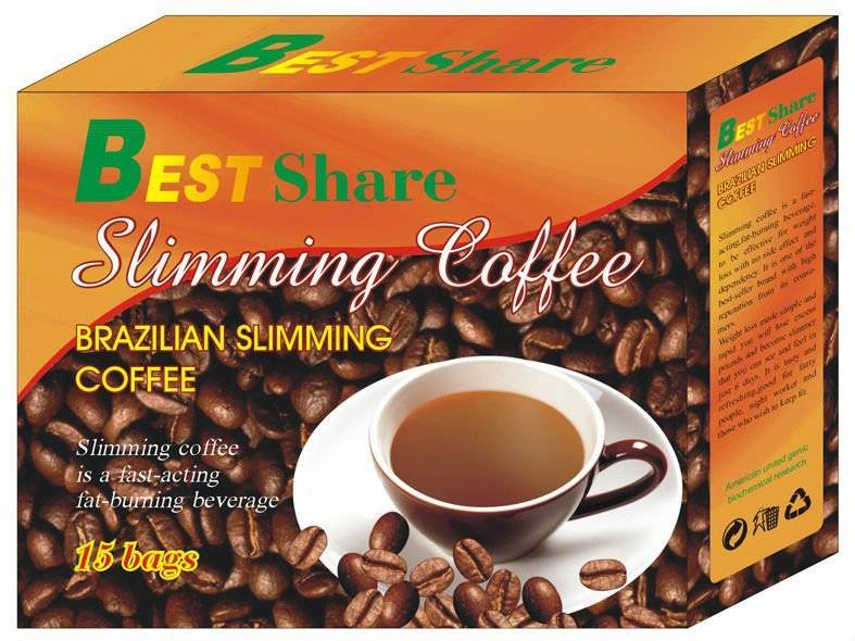 Best share slimming coffee Brazil natural supplements