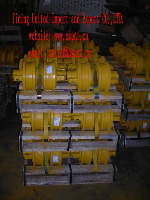 DOUBLE FLANGE TRACK ROLLER FOR BULLDOZER