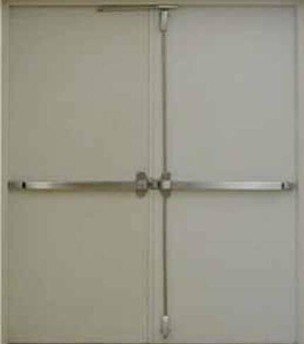 UL certificated fire resistant steel door