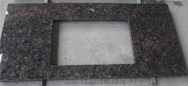Tan Brown Granite Countertops & Tops, Vainity Tops,India Brown Granite