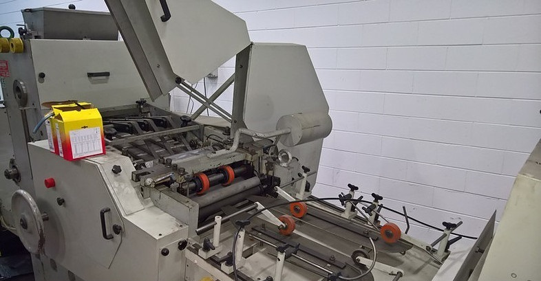 Overhauled Flat/Satchel bag making machine with in-line print