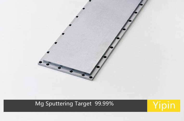 Mg Magnesium Sputtering Target 4n China Target Manufacture Evaporation Coating Materials