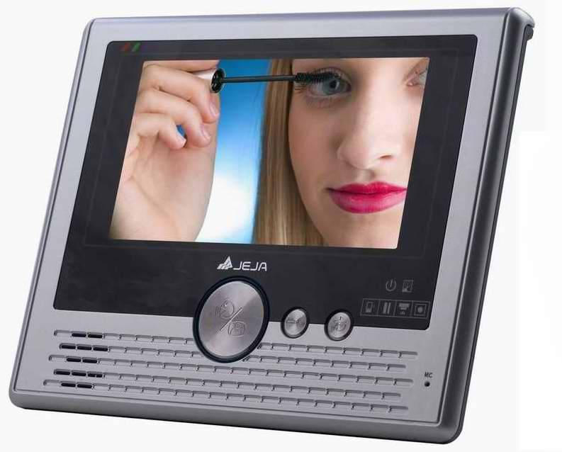 7inch color handfree video door phone for villas apartment cmos ccd