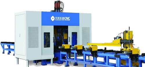 steel structure CNC H Beam Drilling Machine Model TSD1250