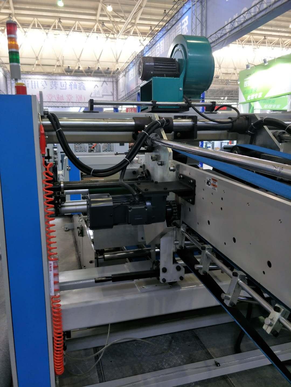 QZ1227A Full Automatic Down Folding Corrugaetd Cardboard Folder Gluer Kelite Packing Machinery