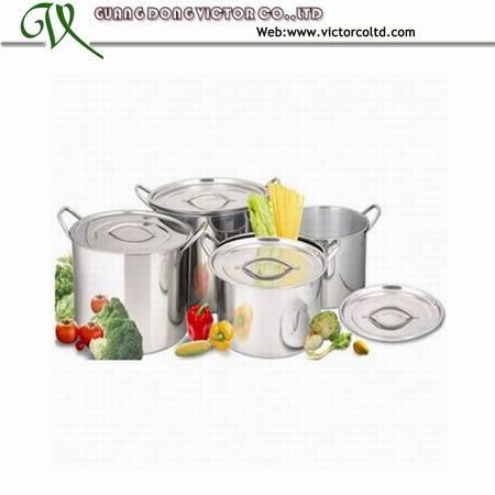 Stainless steel pot set