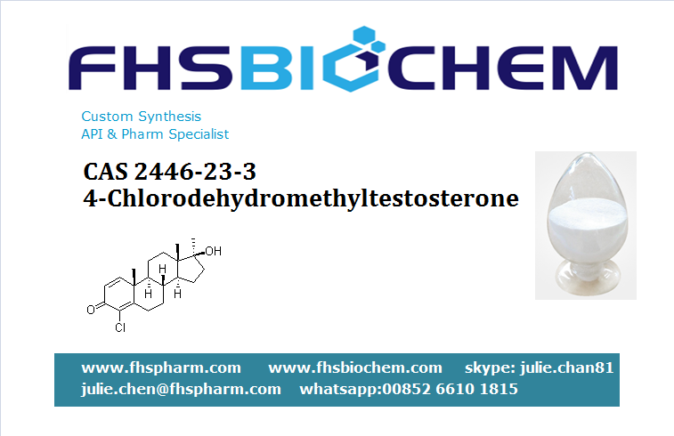 Buy 4-Chlorodehydromethyltestosterone USA, 4-Chlorodehydromethyltestosterone powder buy, 2446-23-3