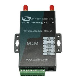 2015 hot sale E-Lins H685 Industrial Wireless Broadband 2G GPRS cellular Router Sim Card Slot Wi