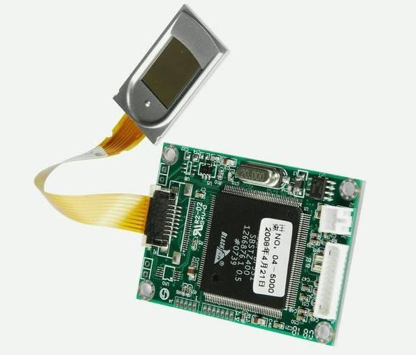 Capacitive fingerprint module