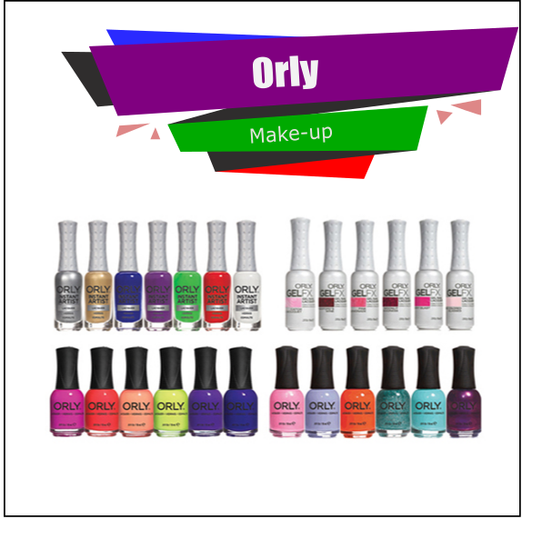 Orly Professional Nails Care Cosmetics