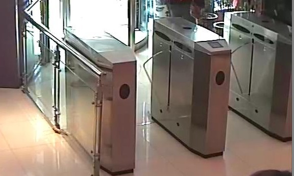 Access barrier TDZ hot sell product stainless steel flap gate at subway