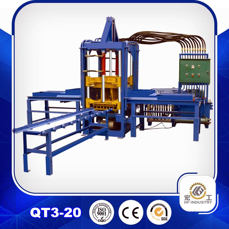 QTF3-20 block making machine block machine