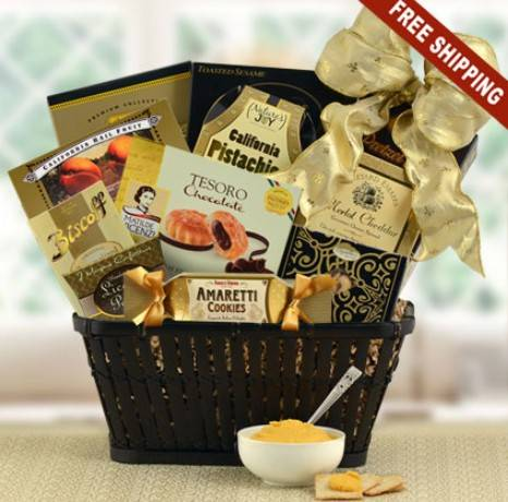 Nice wicker gift baskets for holiday use