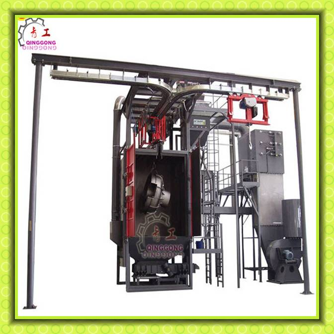 Manufacturing Hook Type Through Shot Blasting Machine