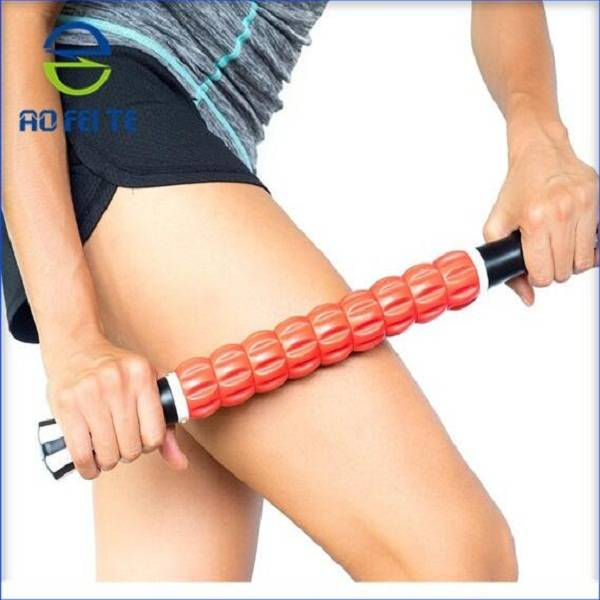 Fitness body massage muscle roller stick