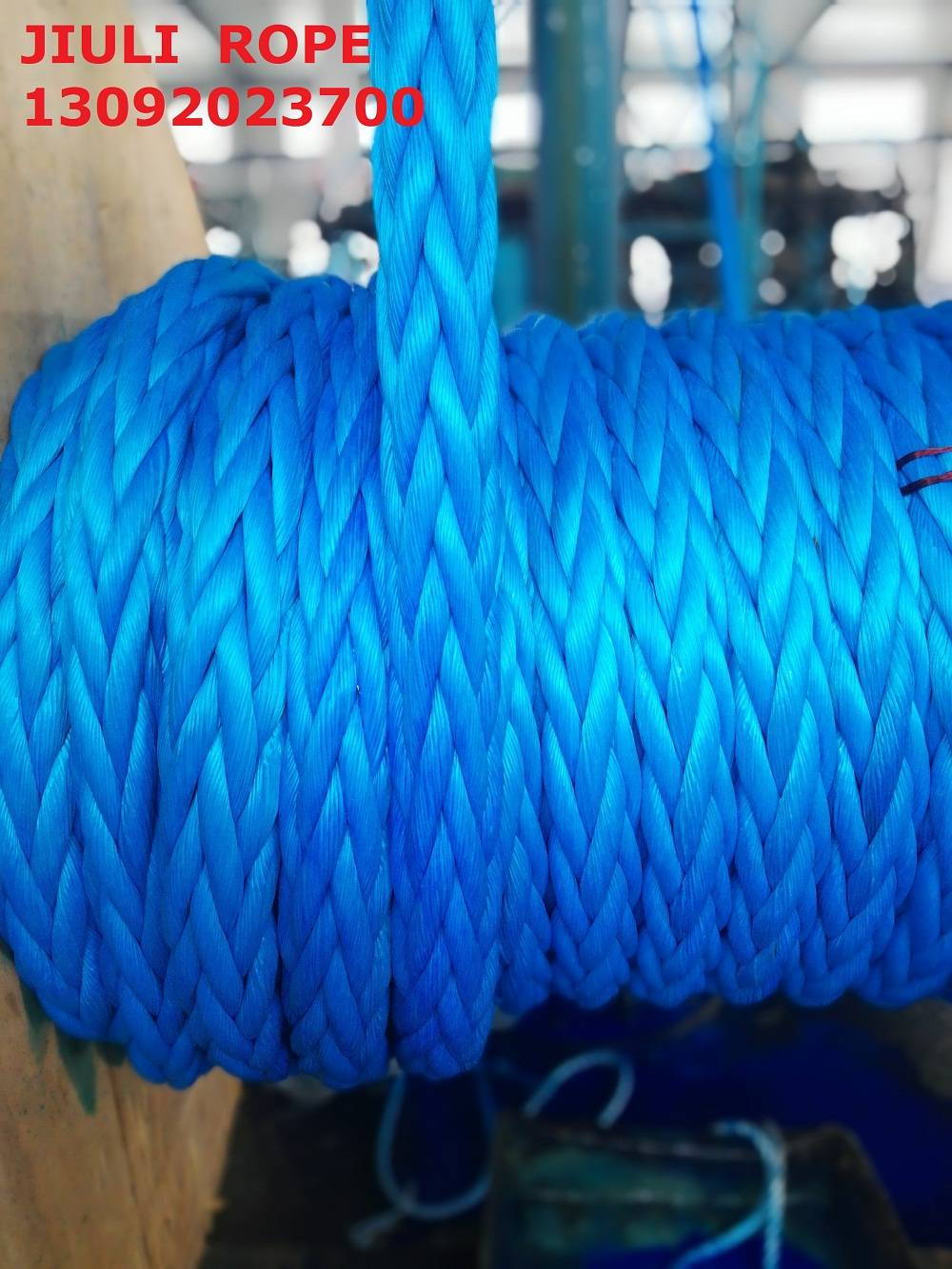 UHMWPE winch rope