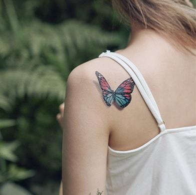 Tattoo, tattoo sticker , water Color, temporary tattoo, globar Tattooist