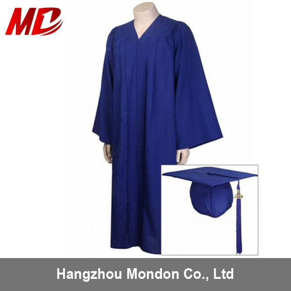 Navy/Dark Blue Graduation Robes with Cap cheap promotion for General School