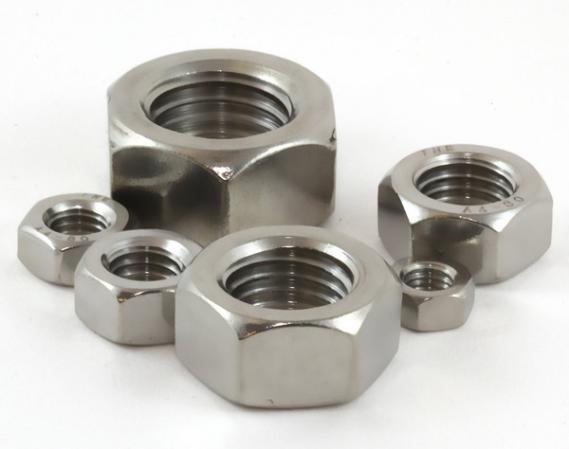titanium hex nuts