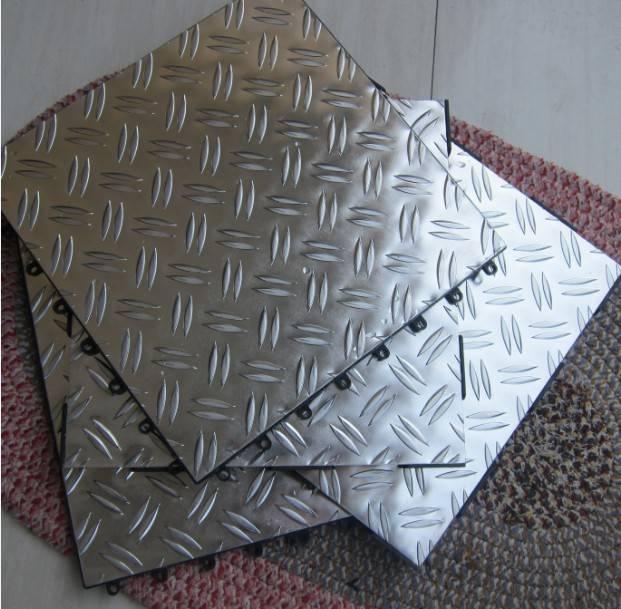 garage aluminum tile