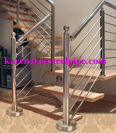 Stainless steel pipe industrial tube decorative pipe handrail pipe