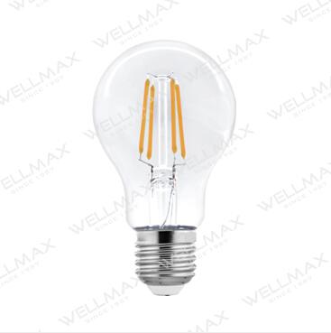 WELLMAX Filament LED Bulb C35/G45/A60