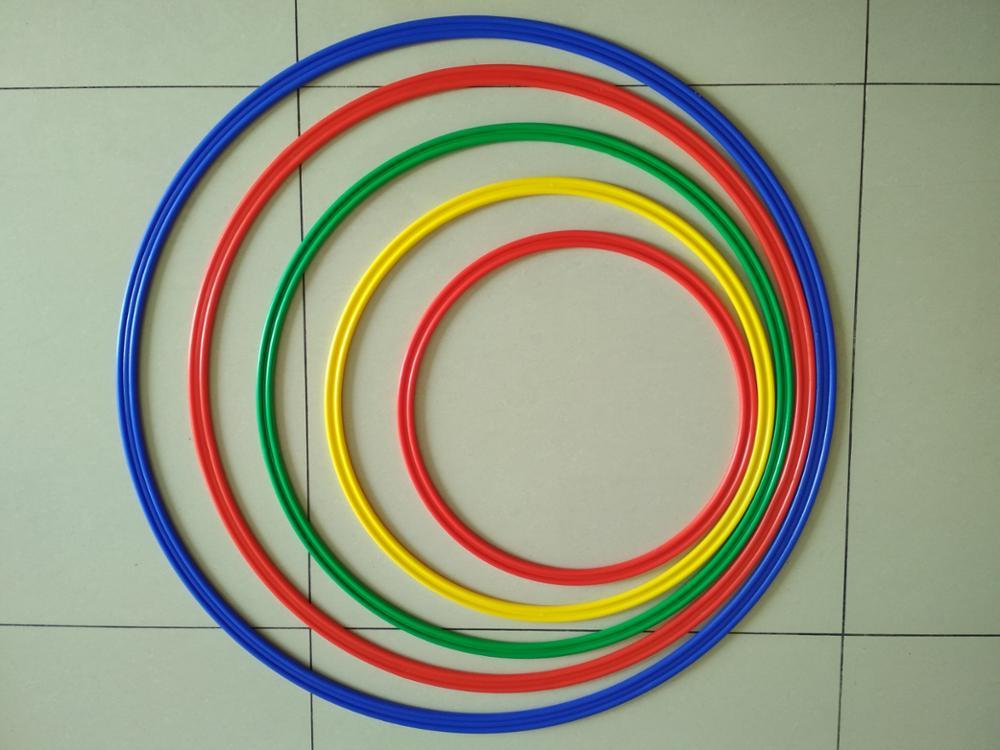 plastic soccer football basekball speed agility training rings