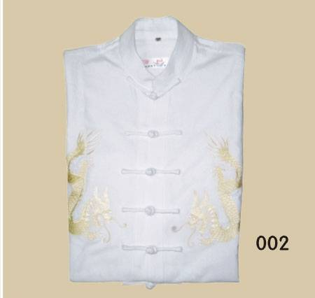 Tranditional chinese clothing-Tang suits(white)