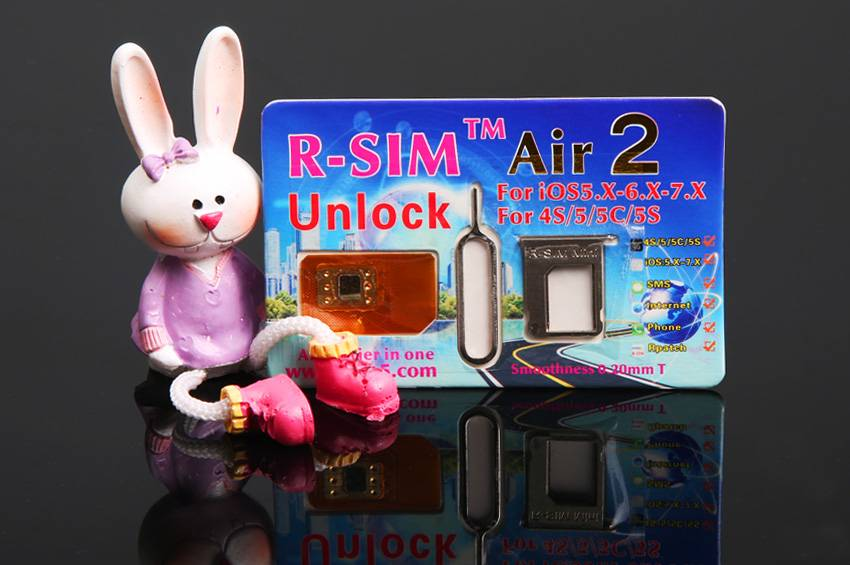 R-SIM Air2 For4 S/5/5C/5S iOS:6.X-7.1.1-7.X (Sprint+N)