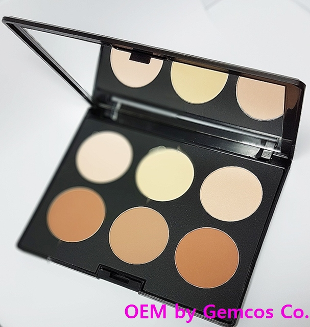 Gemcos Contour palette (FC-104) (Excellent Quality Korean products)