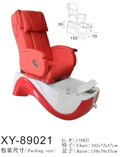 Salon Spa Pedicure Chair Pipeless Jet XY-89021