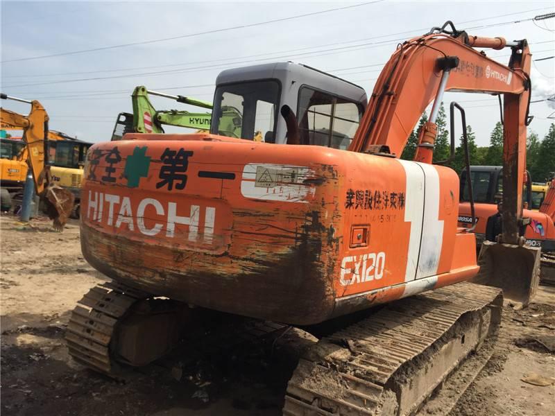 Used Hitachi Crawler Excavator Ex120-1